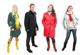 In wintry clothes — Stock Photo