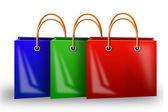 Illustration of bag — Stock Photo