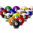Billiard balls — Stock Photo #1141573