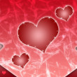 Stock Photo: Background from hearts