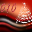 New-year fir-tree — Stockfoto