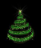 New-year fir-tree — Stock Photo