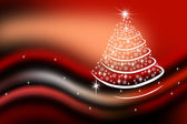 New-year fir-tree — Stock Photo