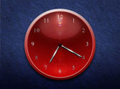 Pointer clock — Stock Photo