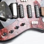Element electro- guitars — Stock Photo