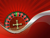 Roulette on an abstract background — Stock Photo