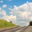 Royalty-Free Stock Photo: High-speed road
