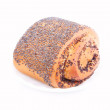 Bread Roll with poppyseed — Stock Photo