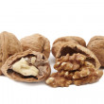 Isolated walnuts — Stock Photo