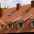 Stock Photo: Dormer windows