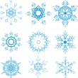 Royalty-Free Stock Vektorfiler: Snowflakes