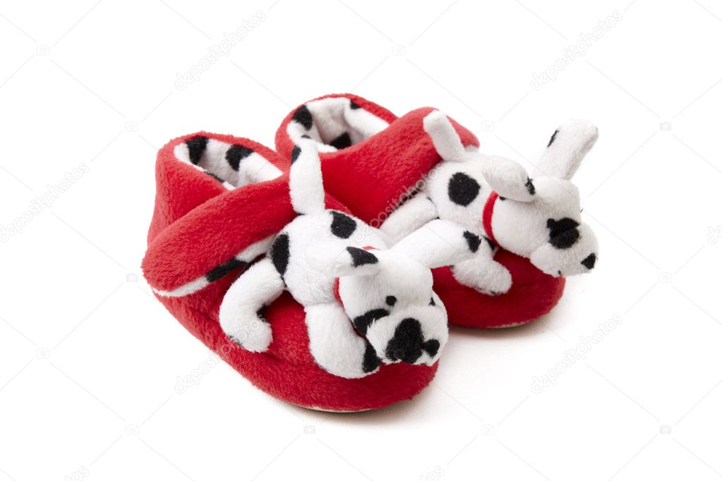Decorated newborn baby shoes — Stock Photo © Nikonas #1812652