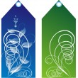 Royalty-Free Stock Imagen vectorial: Gift tags