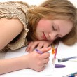 Writing a letter — Stock Photo #2376673