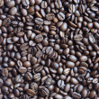 Texture beans coffee — Stock Photo