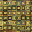 Stock Photo: Textile flax fabric wickerwork texture
