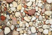 Texture colored sea rocks — Stock Photo