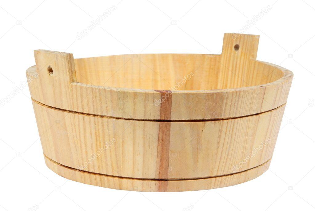 Деревянные тазы для бани