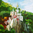 Stock Photo: Painting, svyatogorsk Lavra, Ukraine