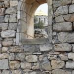Ruins of Chersonese, Sevastopol, Crimea, — Stock Photo #1489261