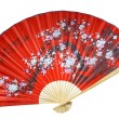 Chinese fan on the white background. (isolated) — Stock Photo #1490890