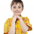 Portrait of little boy — Stock Photo