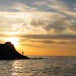 Sunset on the Black Sea — Stock Photo #1491427