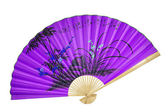 Viola cinese fan — Foto Stock