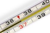 Mercurial thermometer (37) — Stock Photo
