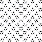 Doku, arka plan, siyah ve beyaz futbol topu — Stok fotoğraf