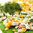 Preparation of salad — Stock Photo #1588326