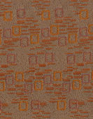 Brown textile flax fabric wickerwork — Stock Photo