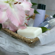 Set of toiletries - Stock Photo