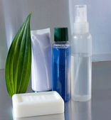Set of toiletries — Stock Photo