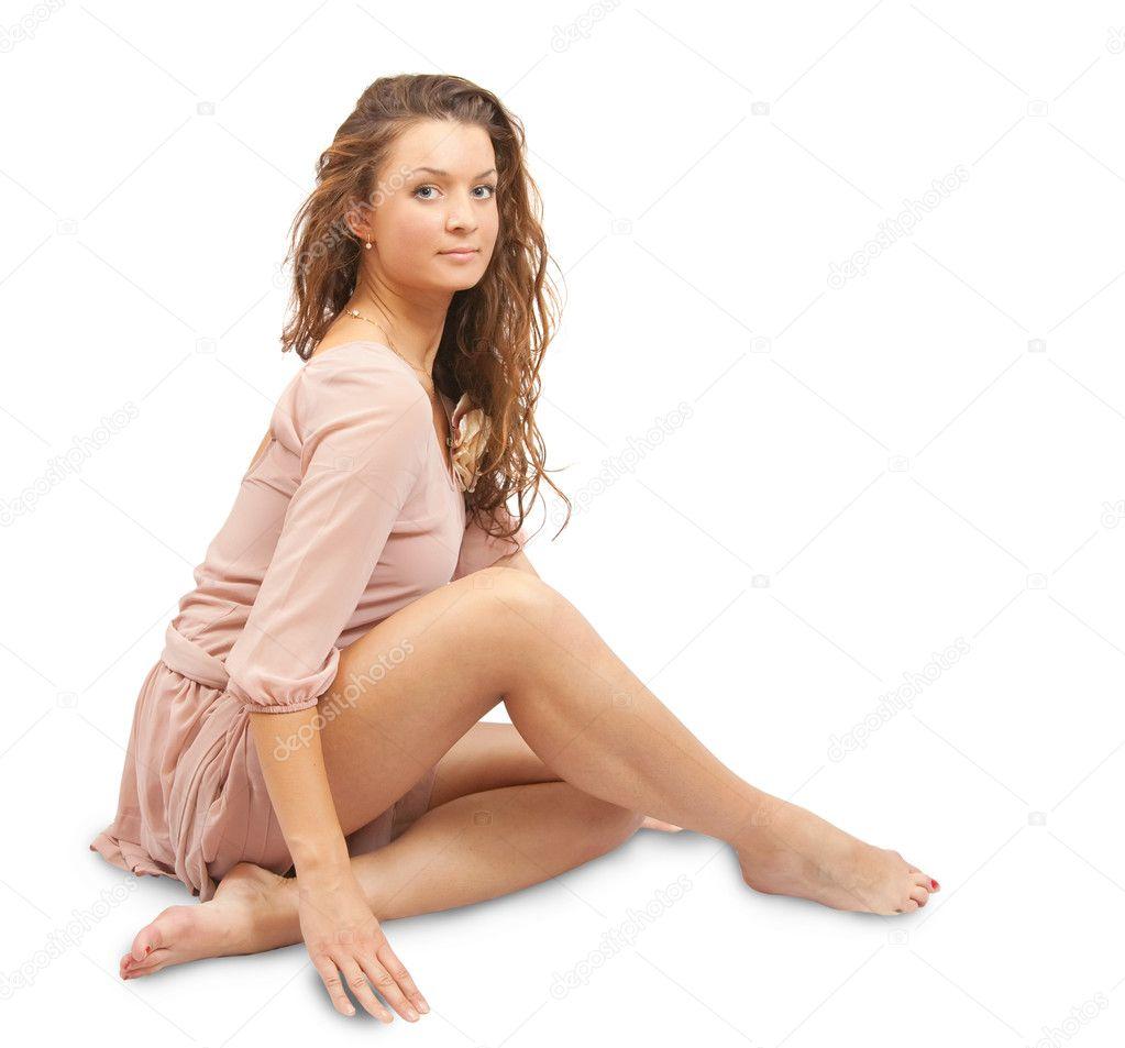 Фотографии сидящих женщин 7 фотография