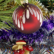 Royalty-Free Stock Photo: Christmas-tree decorations