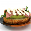 Open sandwich — Stock Photo #1355759