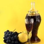 Old wine — Stock Photo