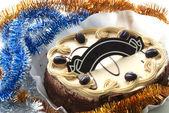 海绵蛋糕 — 图库照片