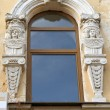 Window in baroque — Stock Photo