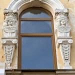 Window in baroque — Stock Photo