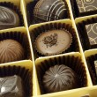 Stock Photo: Assorted chocolates