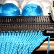 Stock Photo: Knitting machine