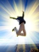 Profondeur vers le ciel — Photo