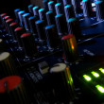 console de mixagem — Foto Stock