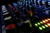 Mixing console — Stock Photo