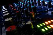 混合控制台 — 图库照片