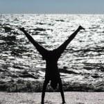 ������, ������: Stunt on beach
