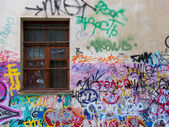 Urban grafity — Stock Photo