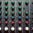 Texture of sound mixer — Foto Stock